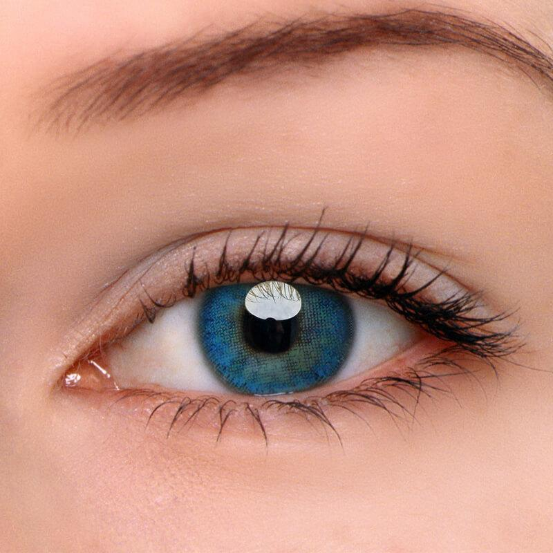 [US Warehouse] Egypt Blue Prescription Yearly Colored Contacts