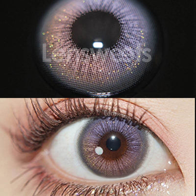 Firmament Violet Prescription Yearly Colored Contacts