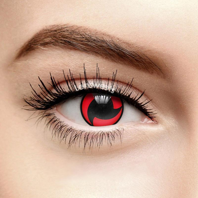 [US Warehouse] Vortex Cosplay Red Yearly Colored Contacts