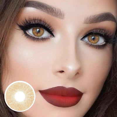 [Flash sale] Lemon Chestnut Yearly Colored Contacts