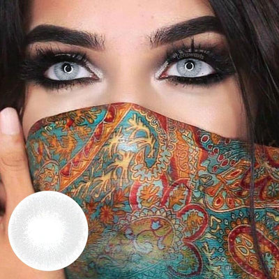 [US Warehouse] Snow Flake Yearly Colored Contacts