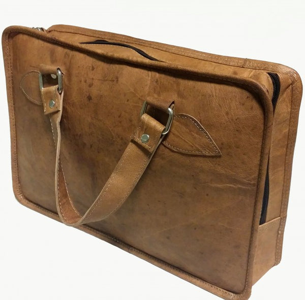 laptop bag veske skinn