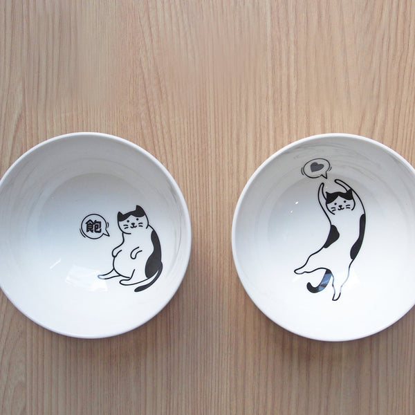 Cat Person's Casual Life Bowl Set