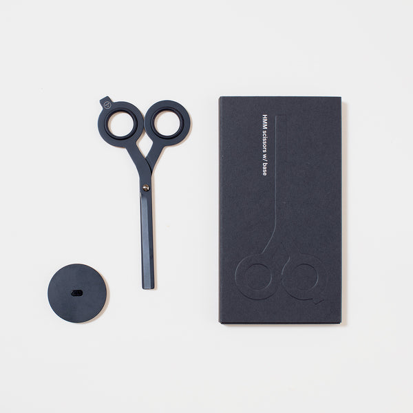 HMM Scissors with Base in Black