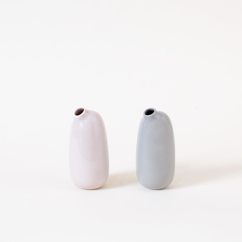 Sacco Vase in Gray