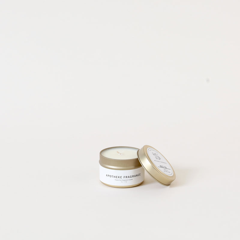 White Tea Travel Tin Candle