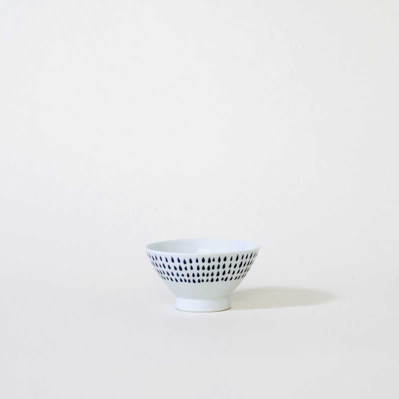 Ceramic Rain Drop Rice Bowl