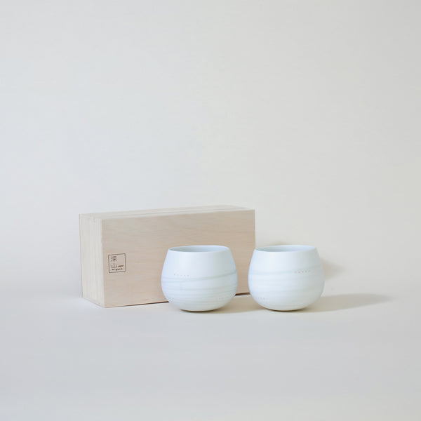 Ceramic Miyama fulico Pair Cups