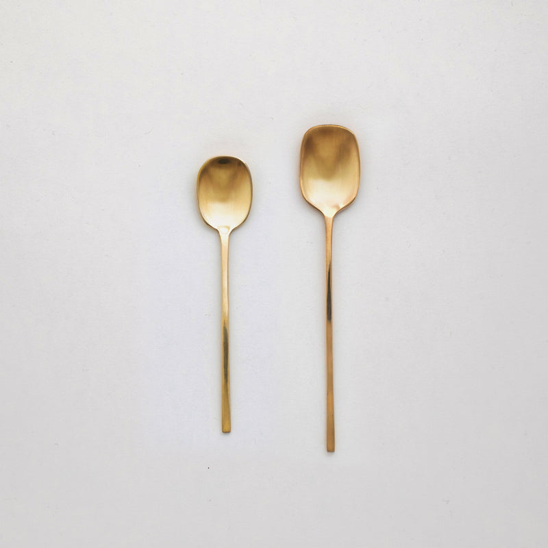 "5"" Brass Meal Spoon"