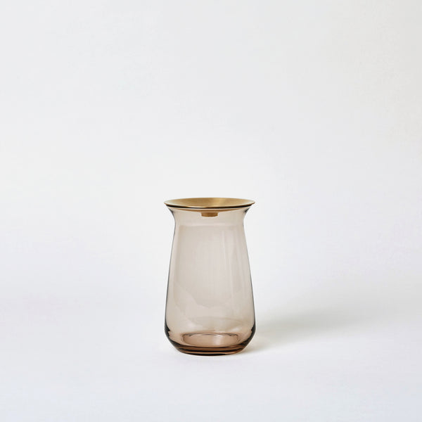 12 oz Luna Vase in Brown