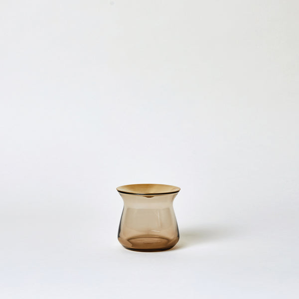 6 oz Luna Vase in Brown