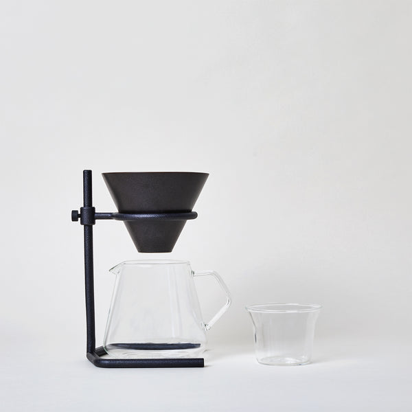 Black Brewer Stand Set