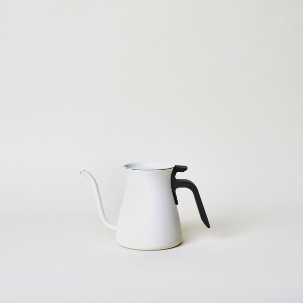 Pour Over Kettle in White