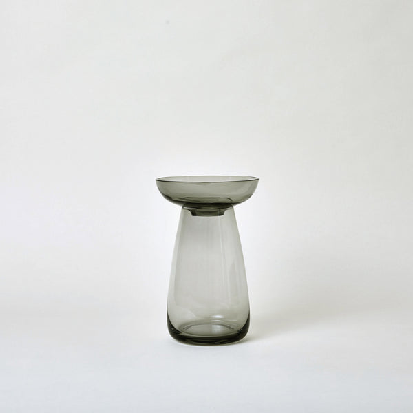 "mogutable - 4.7"" Aqua Culture Vase in Gray"