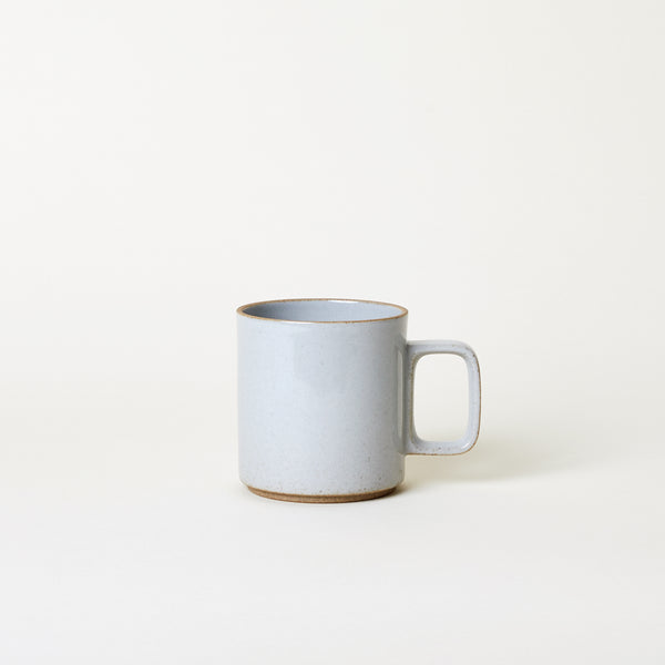 13 oz Ceramic Mug in Gloss Gray