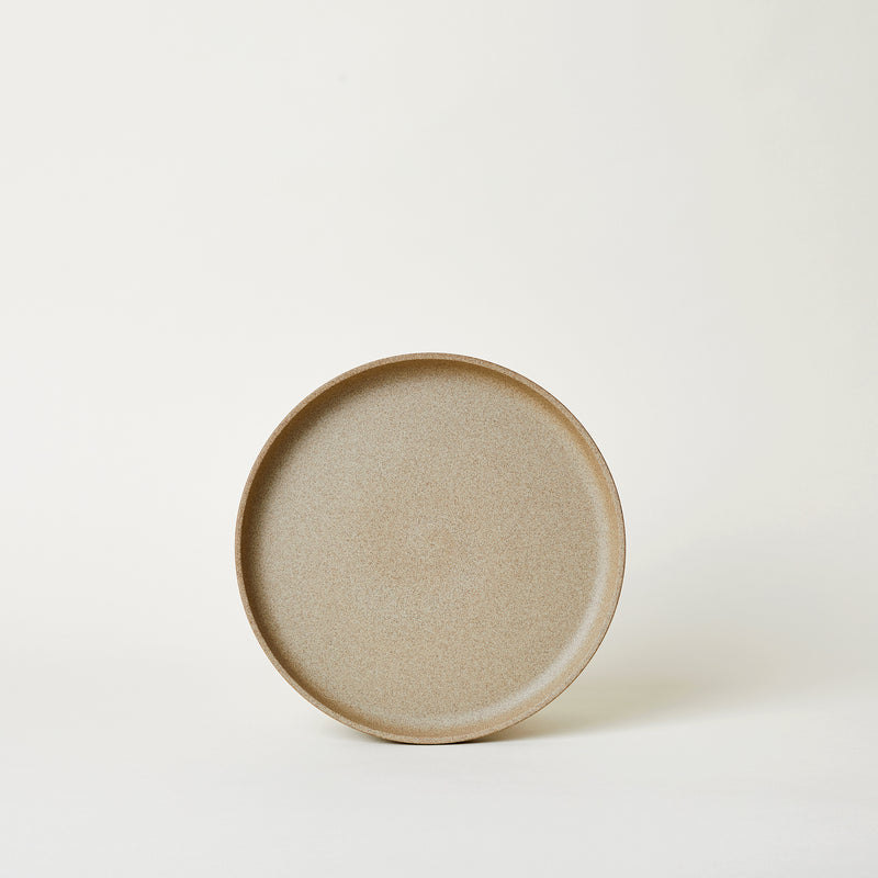 "mogitable - 8.6"" Ceramic Dinner Plate in Natural"