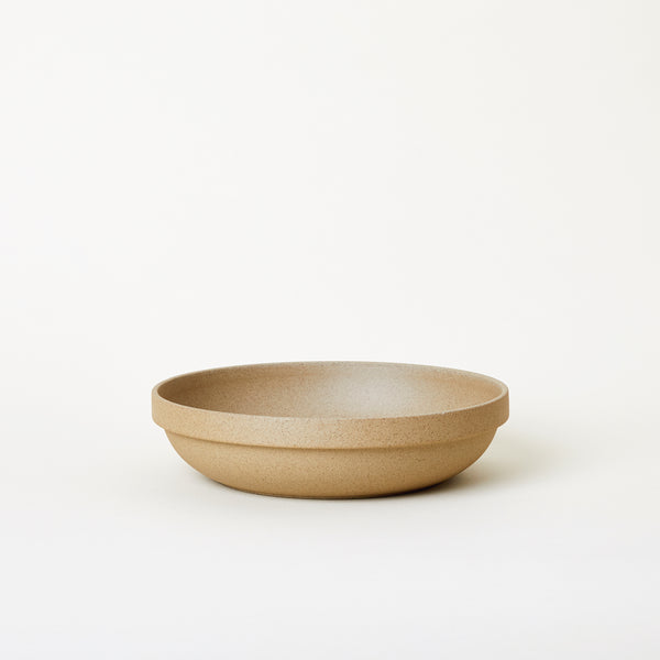 "8.6"" Ceramic Round Serving Bowl in Natural"
