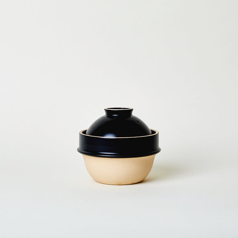 Ceramic Rice Cooker in Black