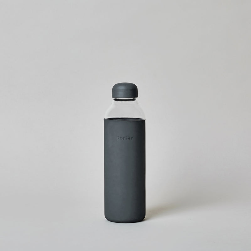 Water Bottle in Charcoal
