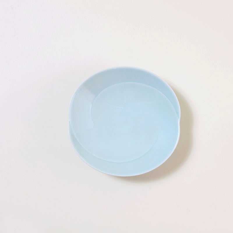 "6.6"" Japanese Dinner Plate in Blue"