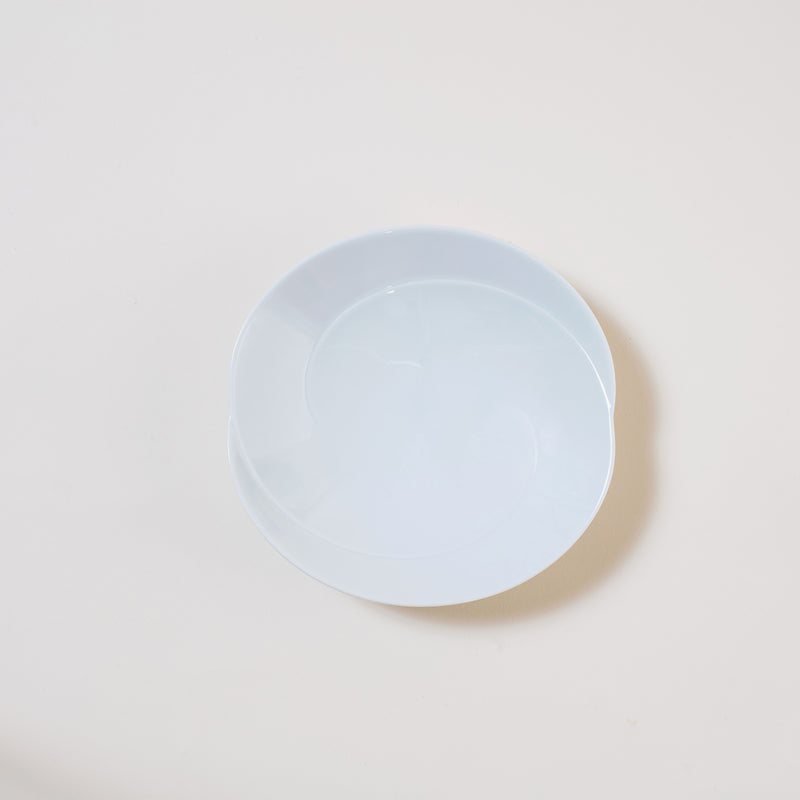 "6.6"" Japanese Dinner Plate in White"