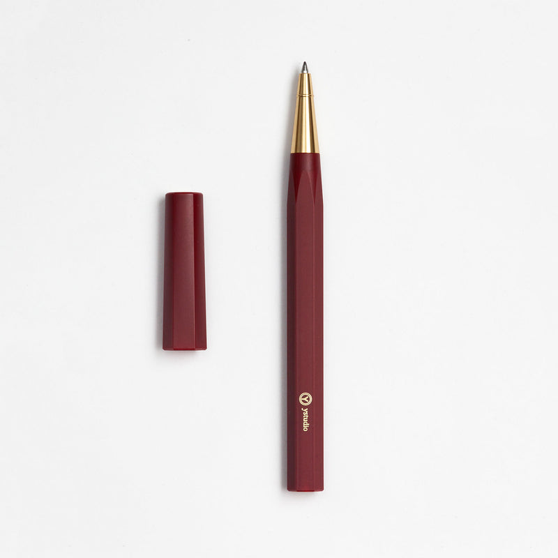 Resin Rollerball Pen in Red