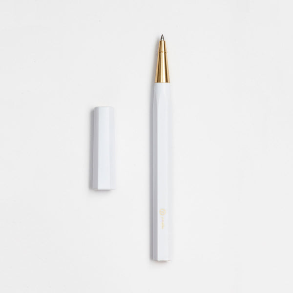 Resin Rollerball Pen in White