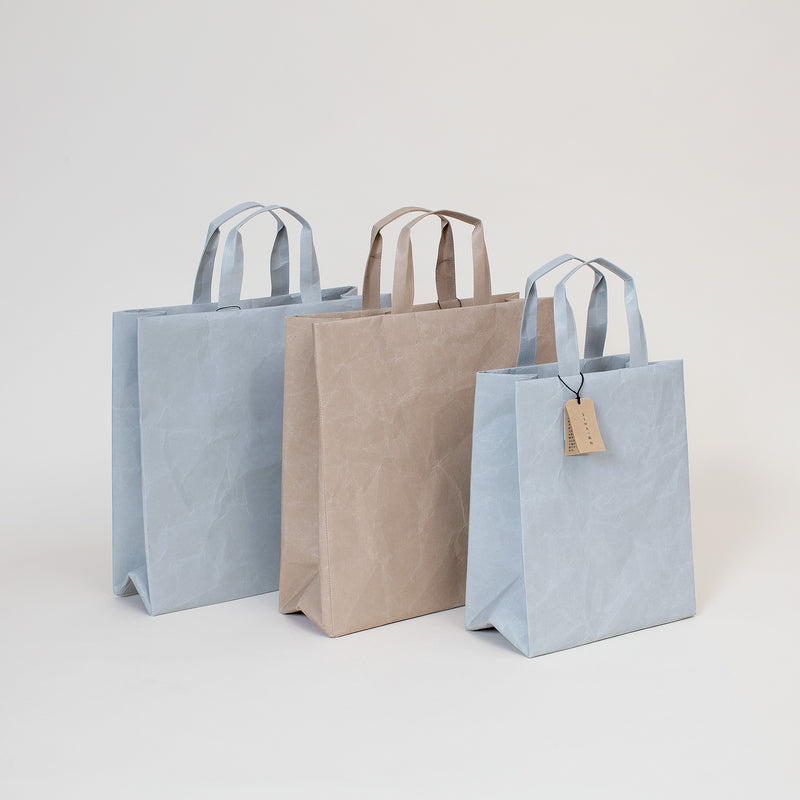 "10.5"" Siwa Paper Bag in Gray"