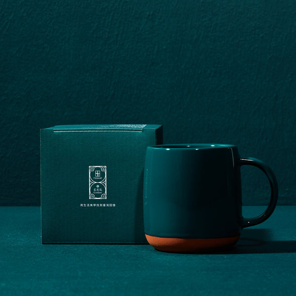 13 oz Terracotta Mug in Chaozhou Green