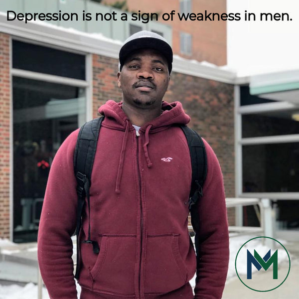 Depression Is Not A Sign Of Weakness in Men