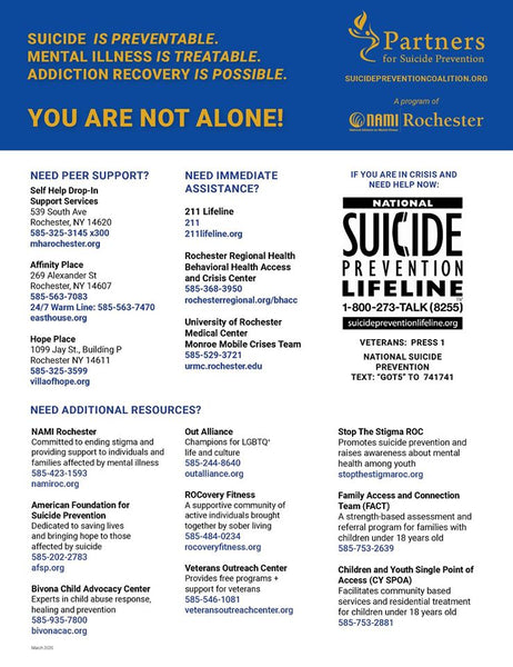 Mental Health Resources in Rochester, NY
