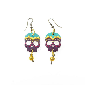 Sugar Skull Earrings by Ethnika