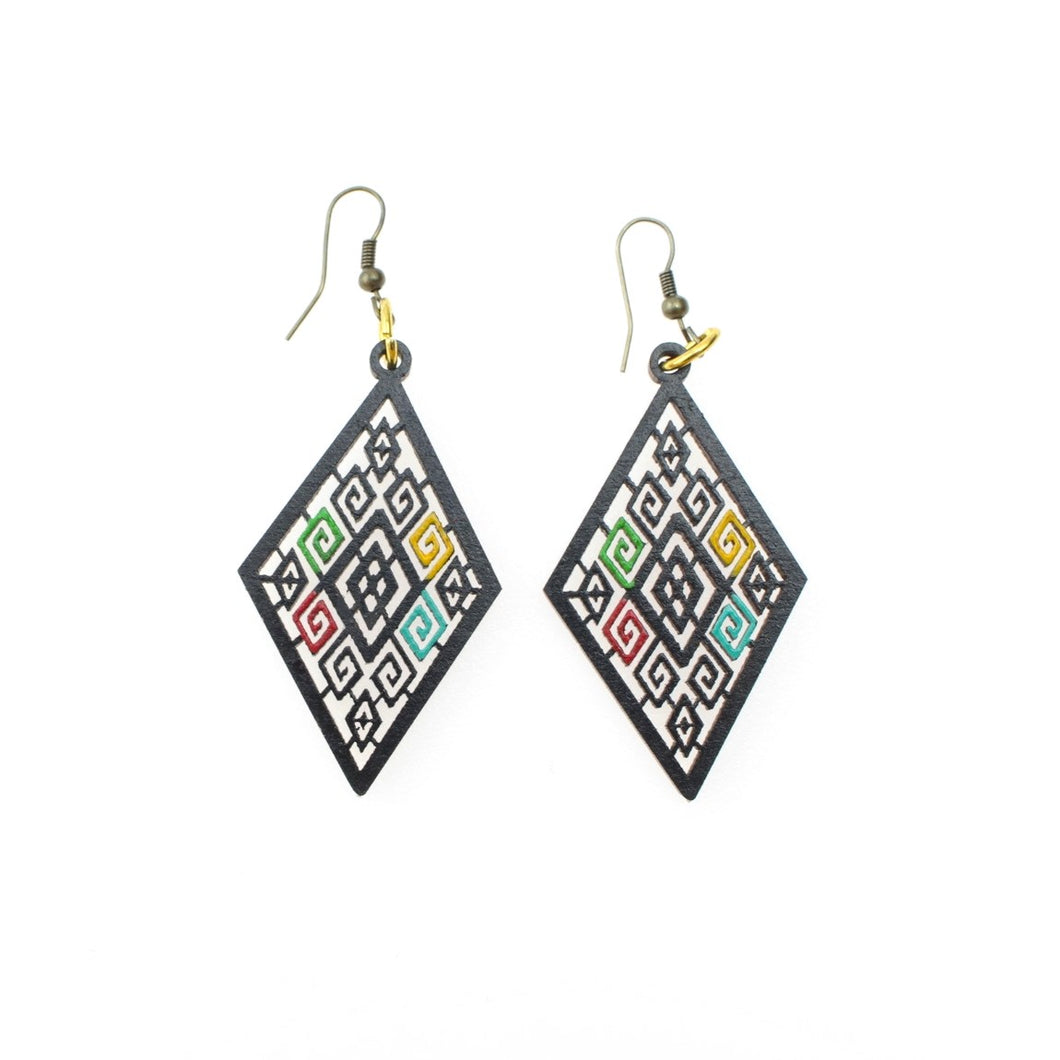 Mayan Earrings by Ethnika