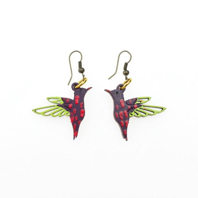 Hummingbird Earrings by Ethnika