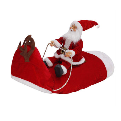 New Arrival Super Cute Dog Santa Claus Riding A Deer Costume 🐕