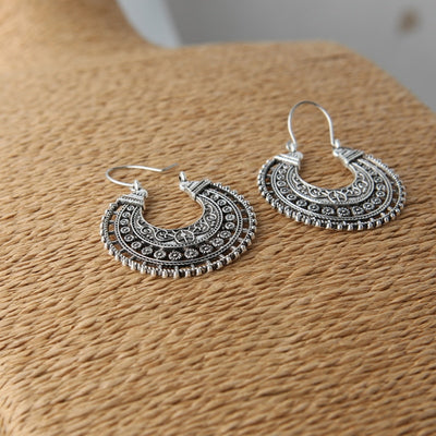 Hoop Earrings Bohemian