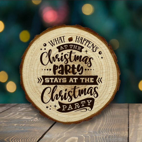 Funny Holiday - wooden ornaments - various designs