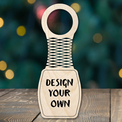 Design Your Own - wine bottle tag
