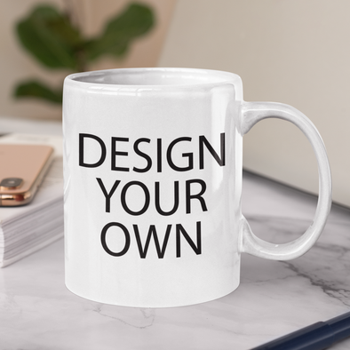 Design Your Own Full Color Wrap 11 oz Mug
