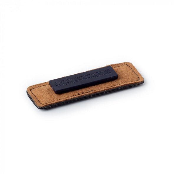 "1"" X 3"" RECTANGULAR NAME BADGE - VEGAN LEATHER"