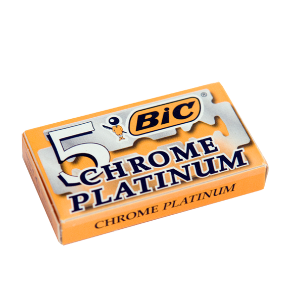 BIC Chrome Platinum Blades 5 pack