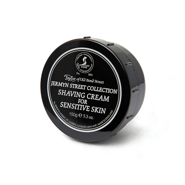 Taylors Jermyn Street Shaving Cream for Sensitive Skin Bowl