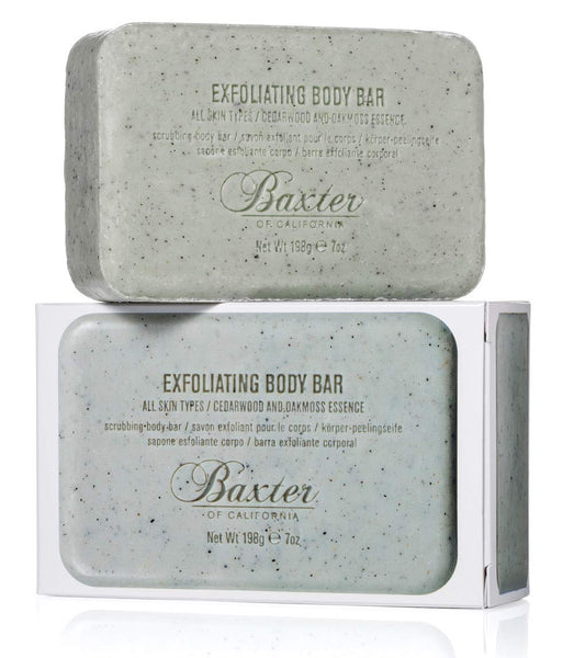 Baxter of California Exfoliating Body Bar - Cedarwood and Oakmoss