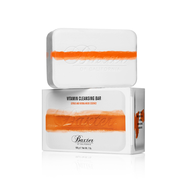 Baxter of California Vitamin Cleansing Bar - Citrus and Herbal Musk