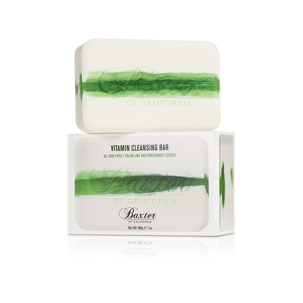 Baxter of California Vitamin Cleansing Bar - Italian Lime and Pomegranate
