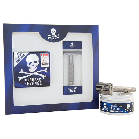 Bluebeards Revenge Cutlass Razor and Shaving Cream Kit