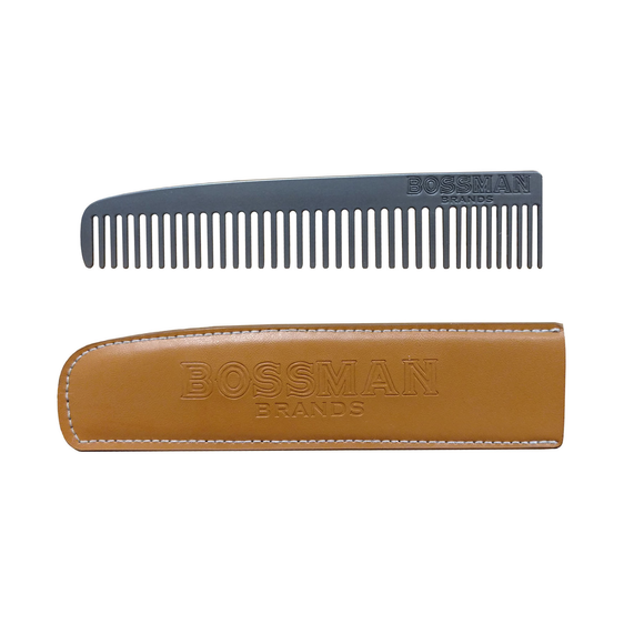 Bossman Metal Beard and Moustache Comb