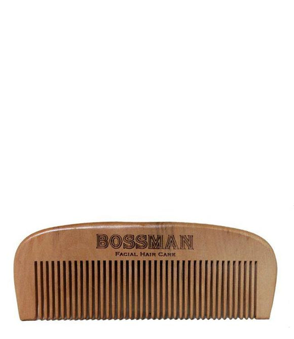 Bossman Pear Wood Comb