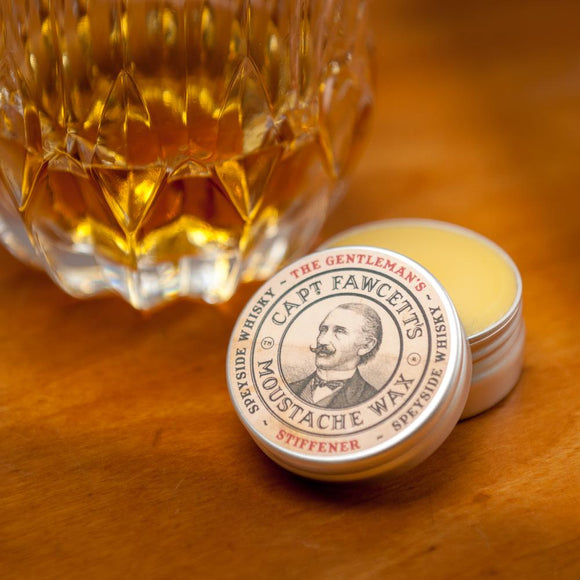 Captain Fawcett's Speyside Whisky Moustache Wax