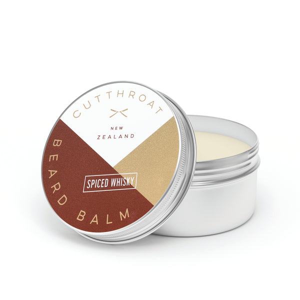 Cutthroat NZ Beard Balm - Spiced Whisky